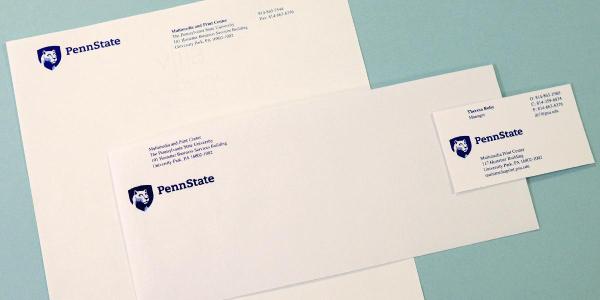 pennstate envelope