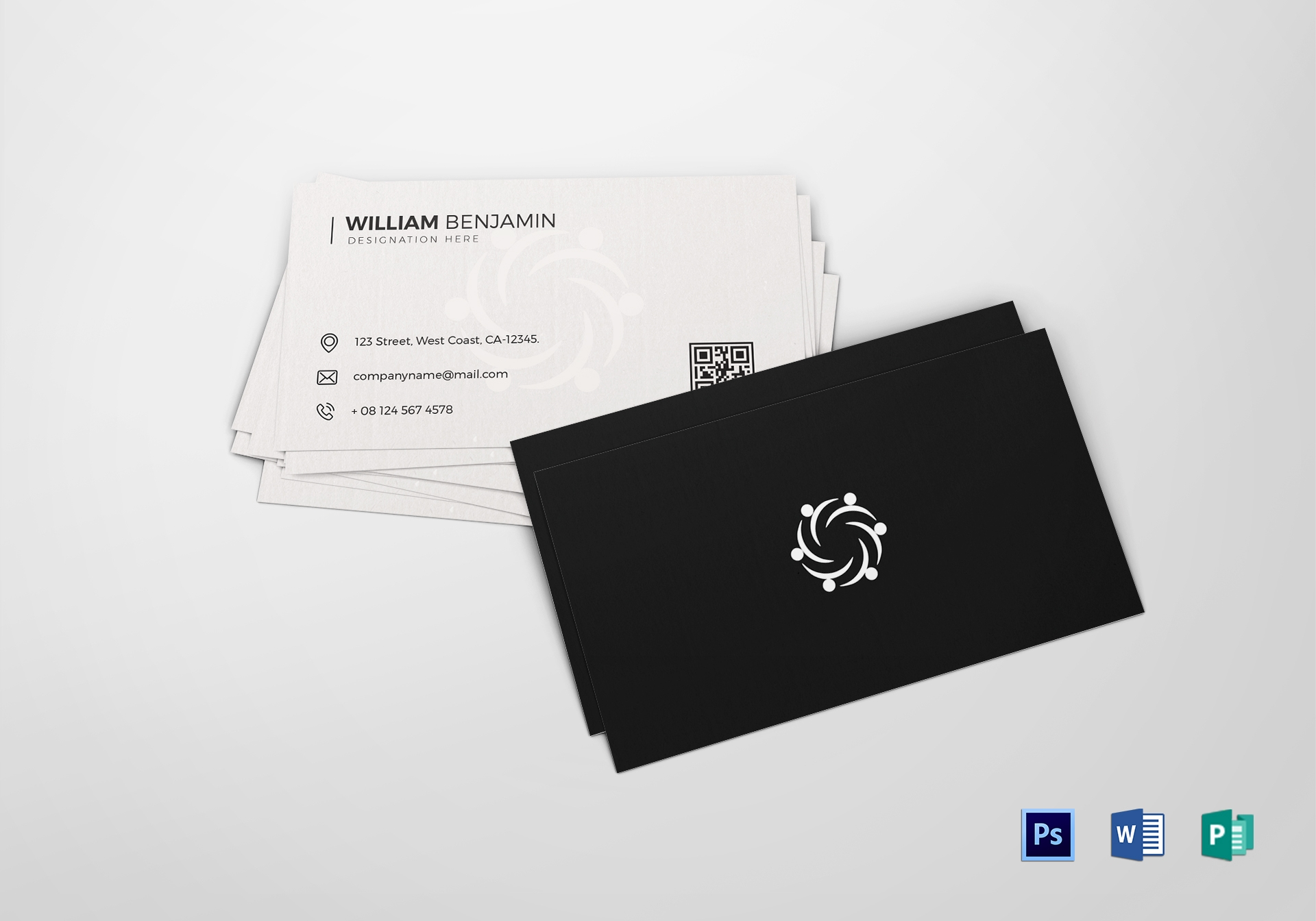 personal business card template