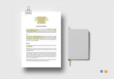 personal loan agreements