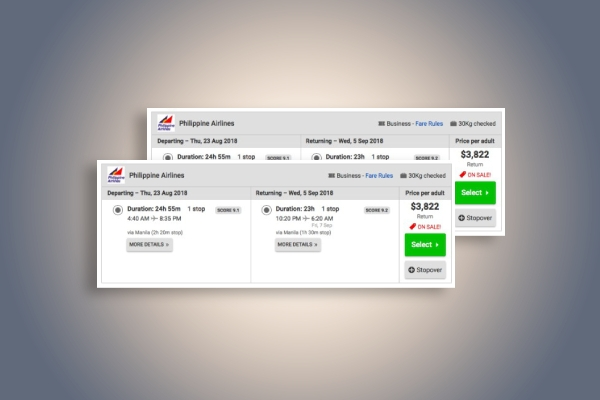 philippine airlines ticket