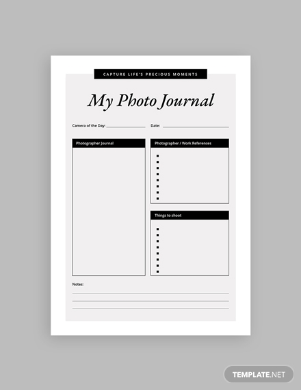 photography journal notebook m1x 4