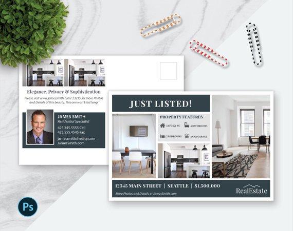 photoshop real estate marketing schedule