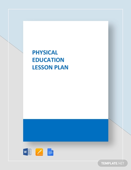 physical education lesson plan1