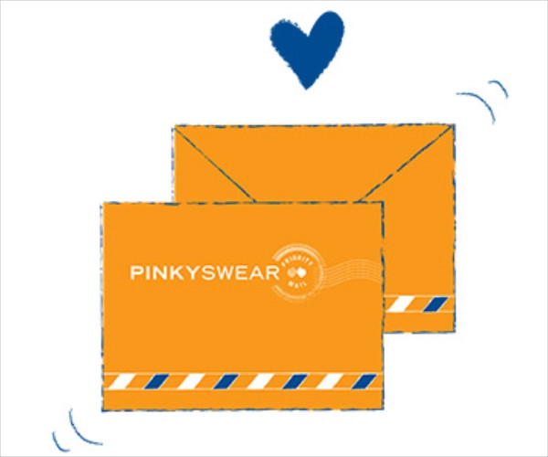 pinky swear orange envelope1