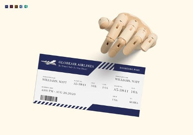 plane boarding ticket1