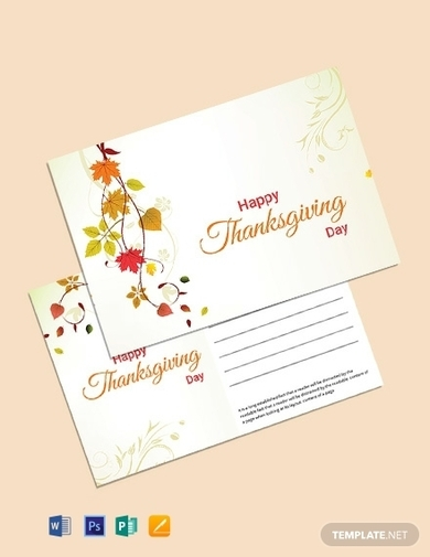 postcard for thanksgiving 1