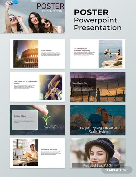 poster powerpoint presentation