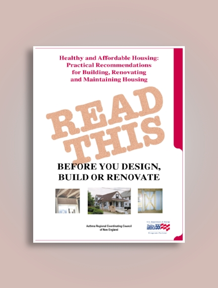practical recommendations for building renovating and maintaining housing