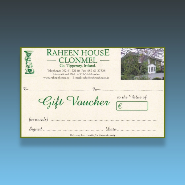 raheen house hotel gift voucher1