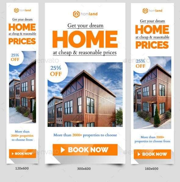 real estate agency web banner ads