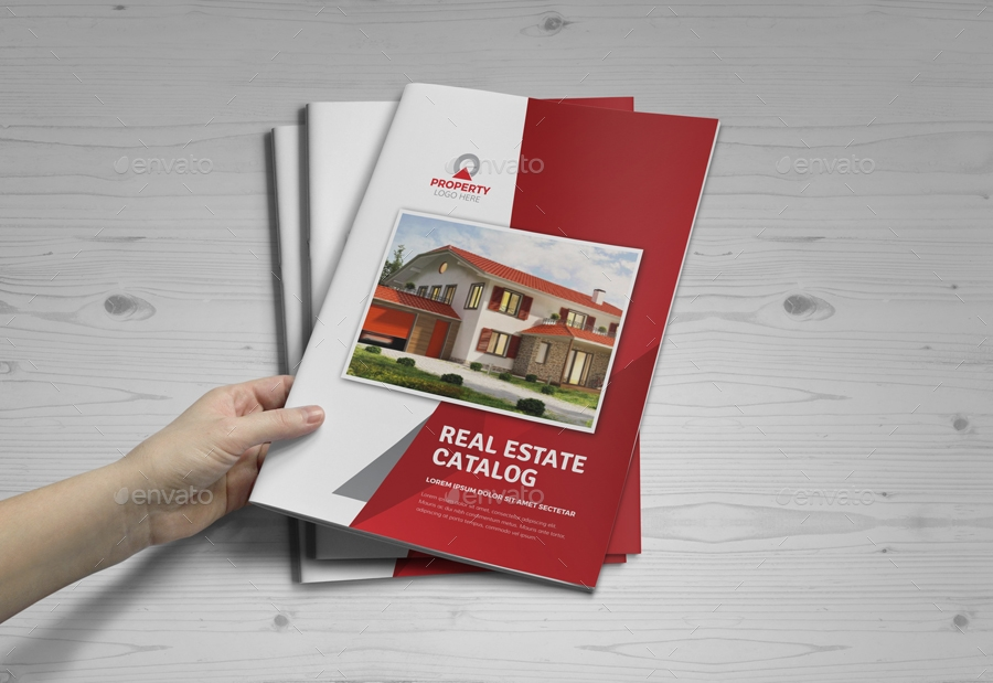 real estate brochure template for companies