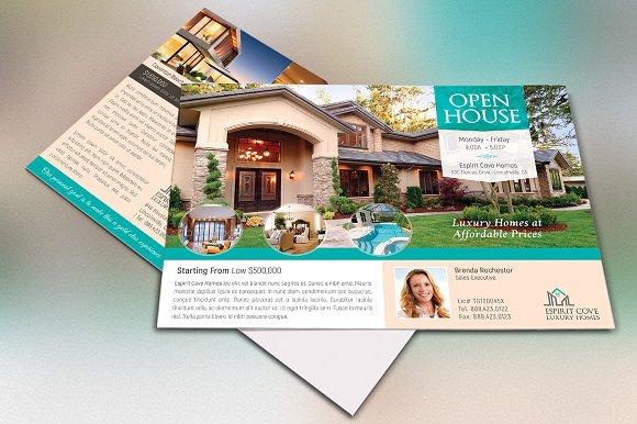 real estate eddm postcard template