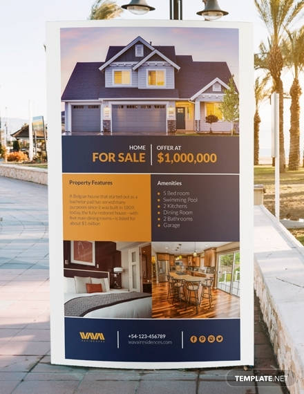 real estate listing digital signage