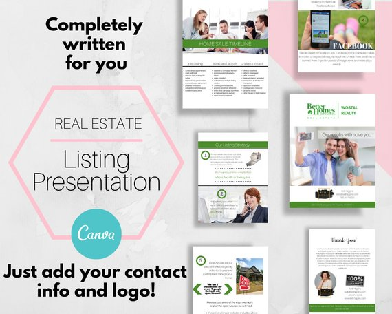 real estate listing presentation