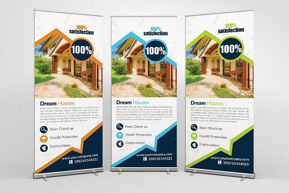 real estate rollup banner design