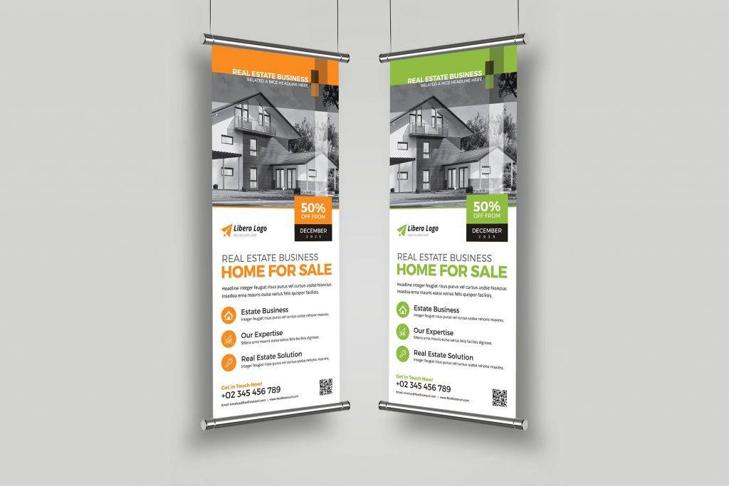 real estate rollup banner signage 1024x683