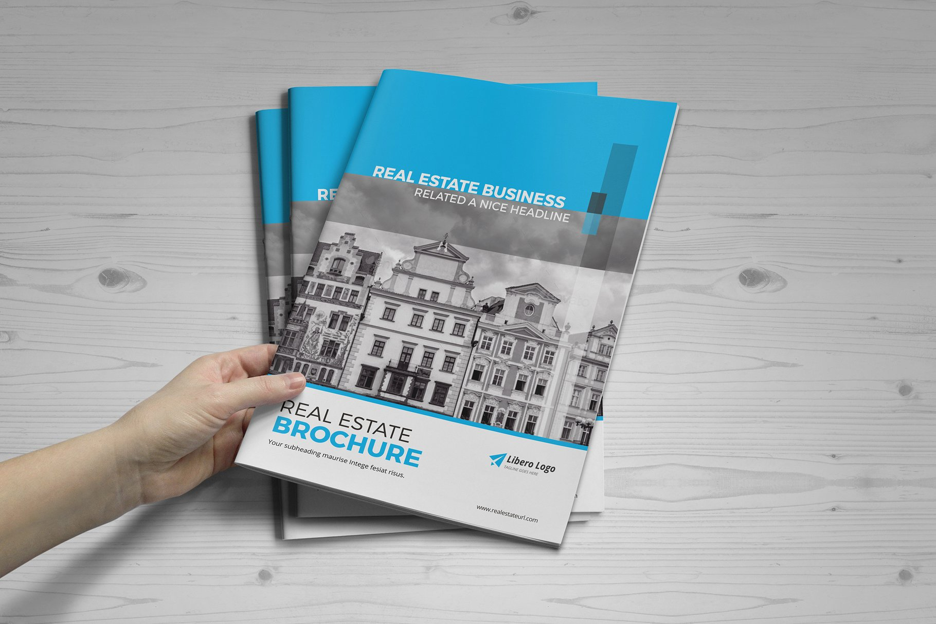 real estate property brochure template for agencies