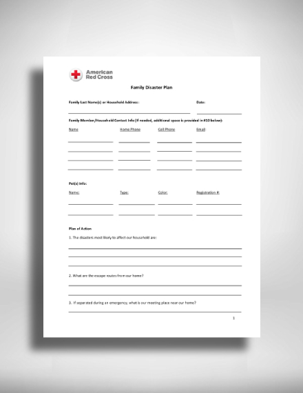 red cross family disaster action plan1
