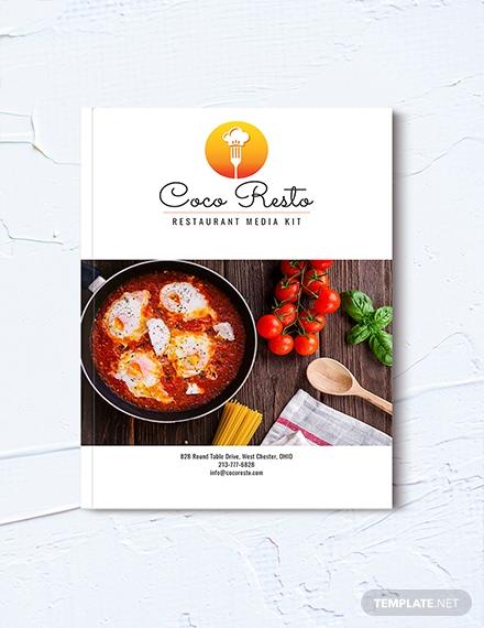restaurant business media kit