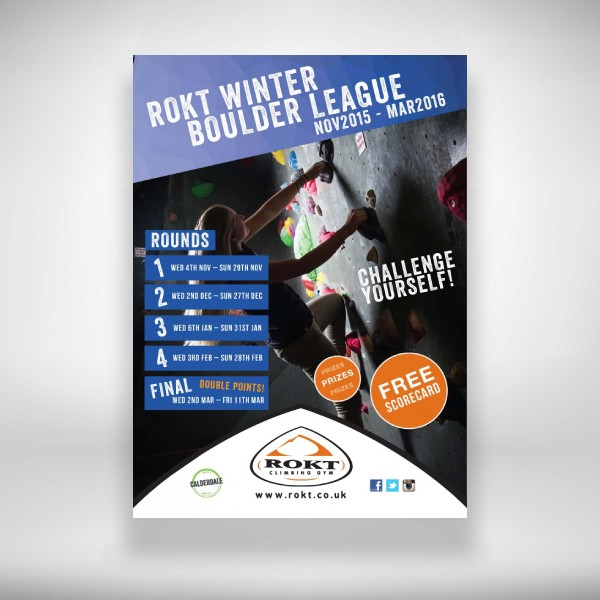 rokt winter boulder league flyer