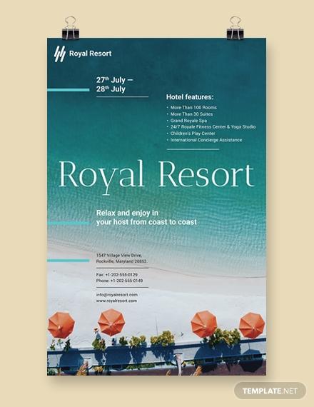royal resort poster