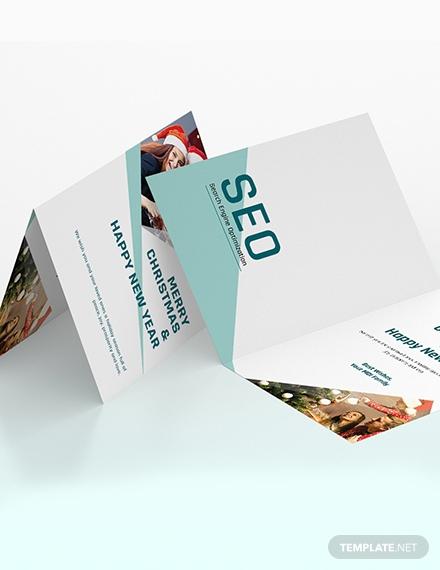 seo greeting card
