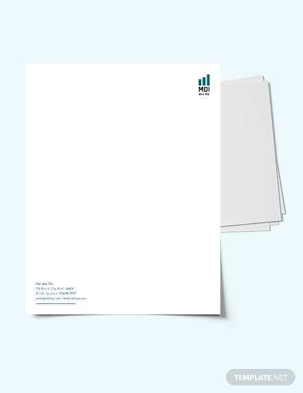 seo letterhead