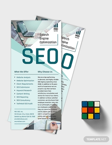 seo rack card