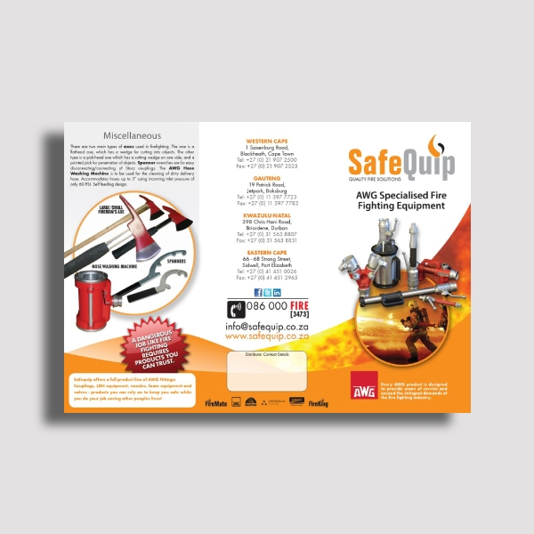 safequip product brochure