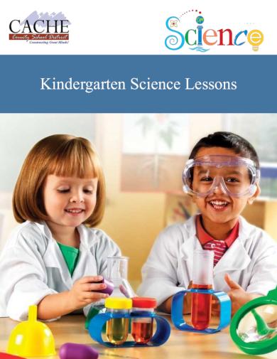 science kindergarten lesson plan