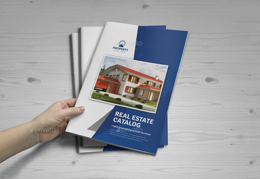 simple real estate brochure template