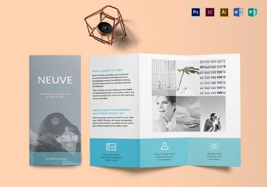 simple and clean photography brochure1