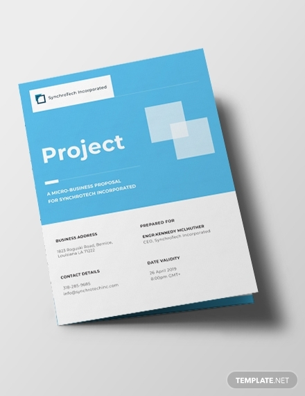 small business brochure template 440
