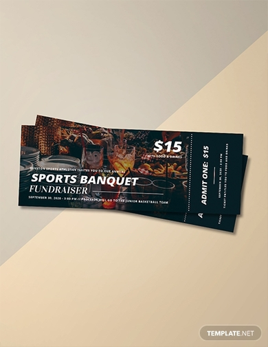 sports banquet ticket