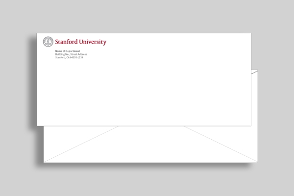 stanford university seal envelope