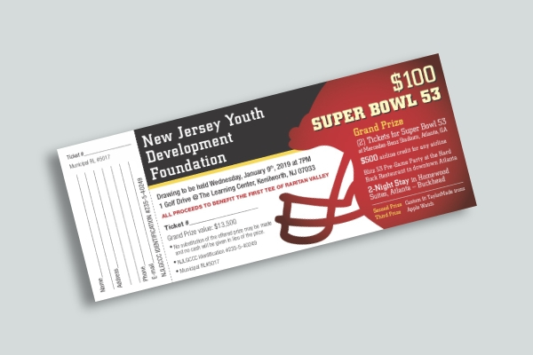 super bowl 53 raffle ticket