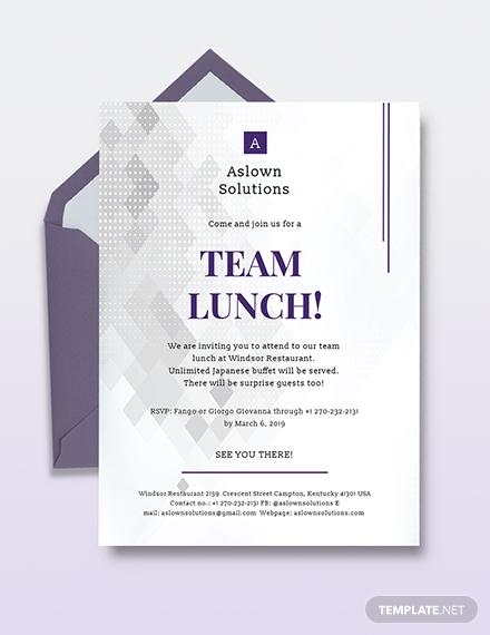 team lunch invitation1
