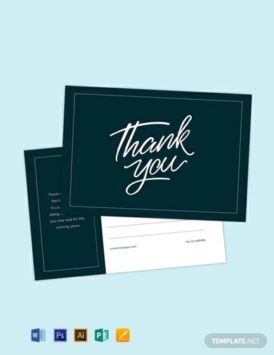 thank you postcard 1