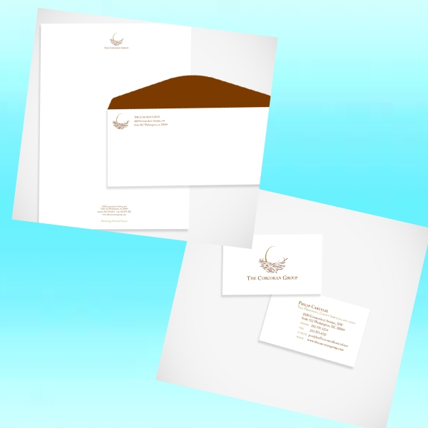 the corcoran group real estate stationery