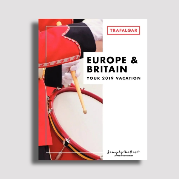 trafalgar europe and britain travel brochure