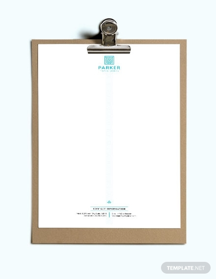 travel agency letterhead