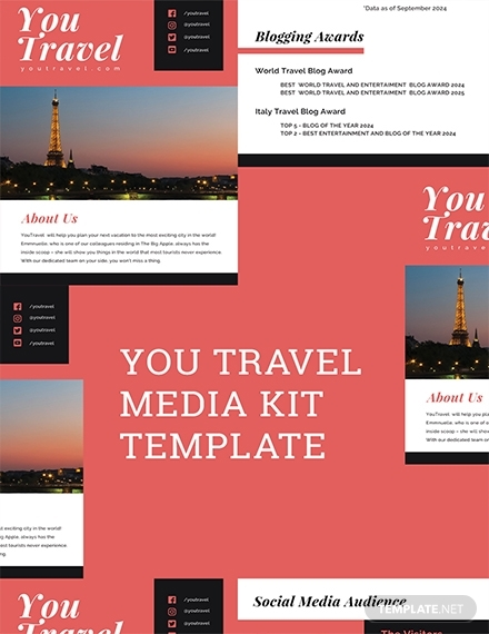 travel blog media kit