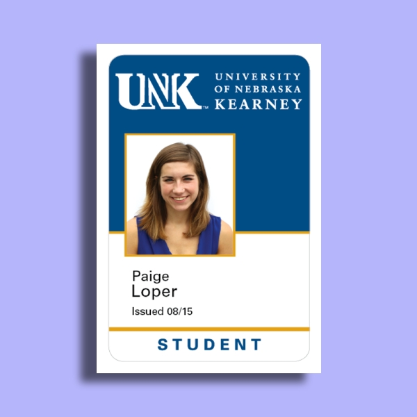 unk student id card