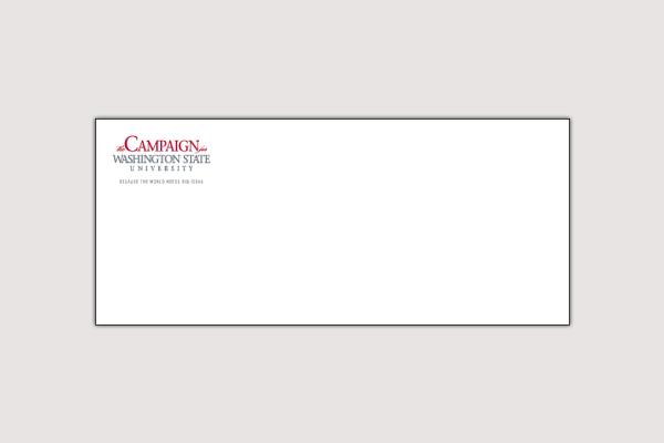 university campaign envelope