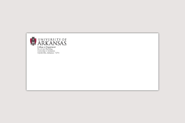 university of arkansas envelope