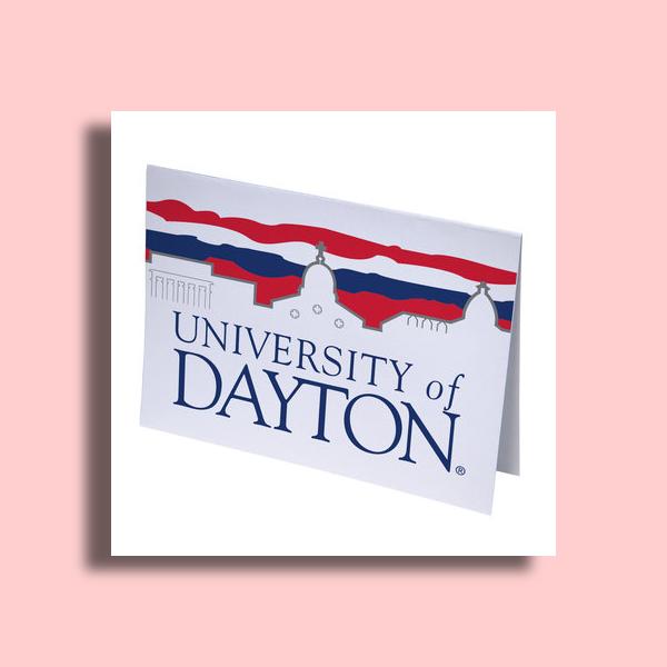 university of dayton greeting card