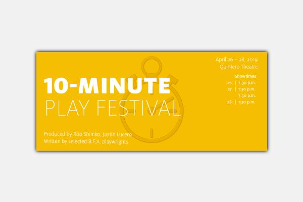 university of houston play fest ticket