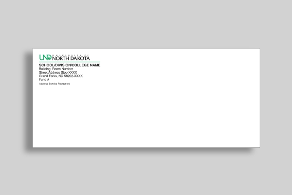 university of north dakota envelope