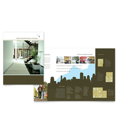 urban real estate listing brochure template2