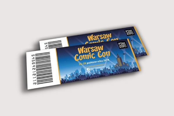 warsaw comic con ticket